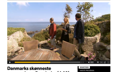 Danish Television visits Bornholm in the hunt for unique houses